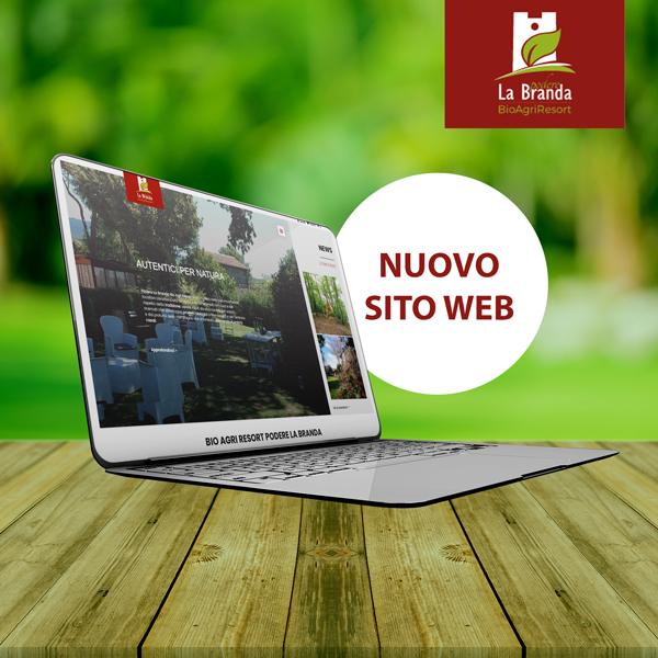 IL RESTYLING DEL SITO WEB DI PODERE LA BRANDA